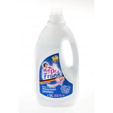 Dr. Frank koncentrēts šķidrs veļas mazgāšanas līdzeklis universāls 33 MR (2 L)